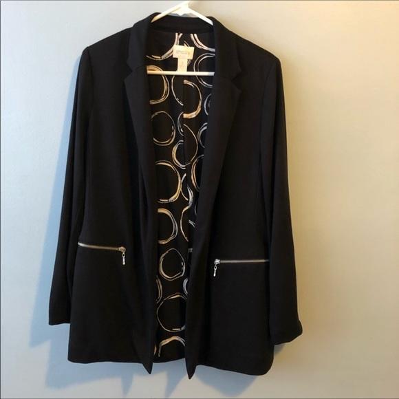 """Chico's Jackets & Blazers - Chico""""s Black Blazer Size 1"""